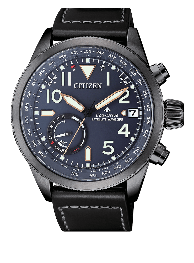 Citizen Satellite Wave GPS Promaster