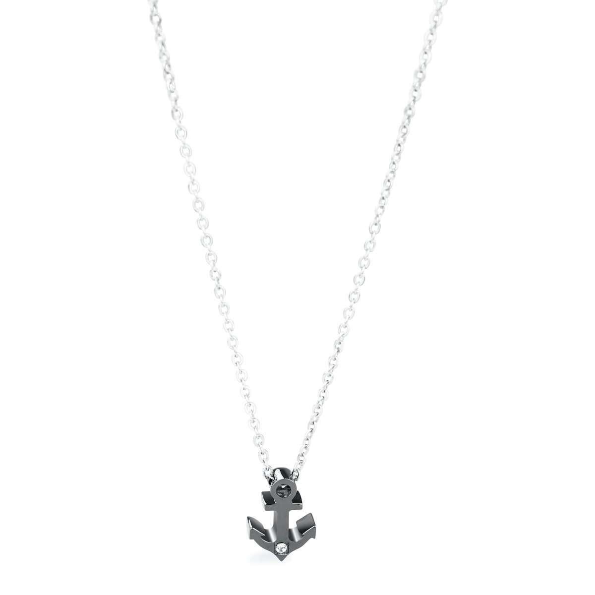 Brosway collana da uomo in acciaio Marine